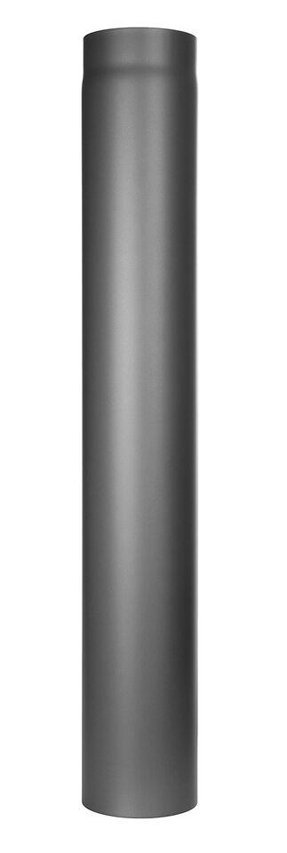 Kachelpijp -Lengte element 1000 mm grijs - Jeremias Ferro-Lux