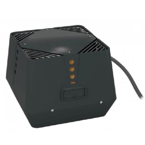 Rookgasventilator- horizontale uitblaas - Exodraft