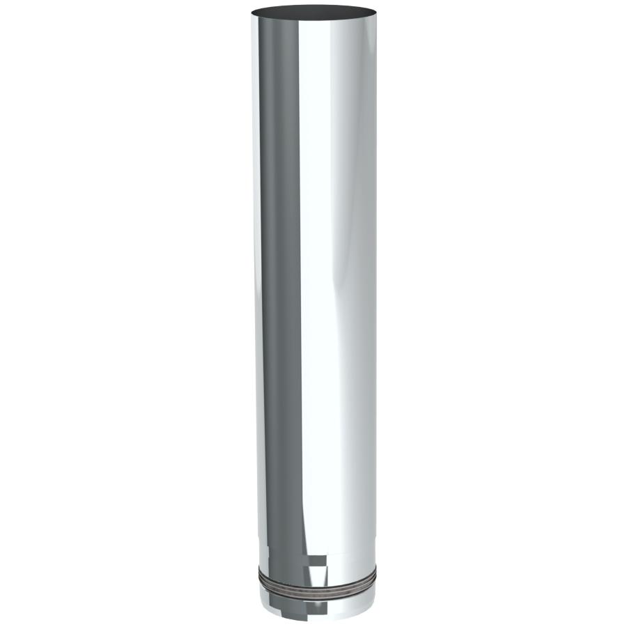 Rookkanaal Pelletkachel - Lengte-element 500 mm - ongelakt - Tecnovis TEC-Pellet