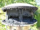 Kan condensatie de schoorsteen beschadigen?