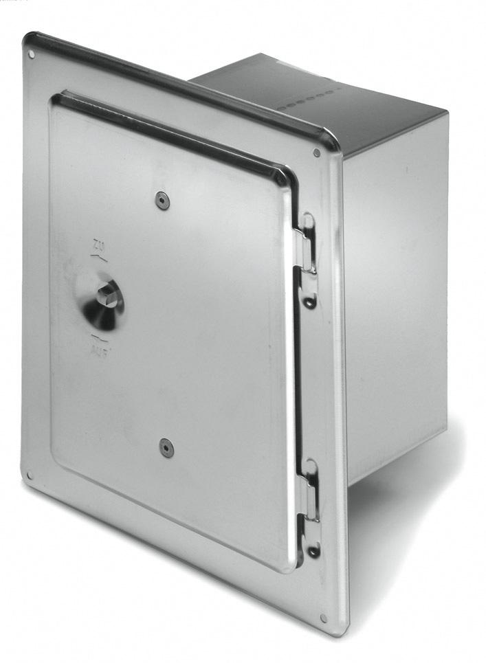 Schoorsteendeur RV 200/300-15 van Kutzner +Weber