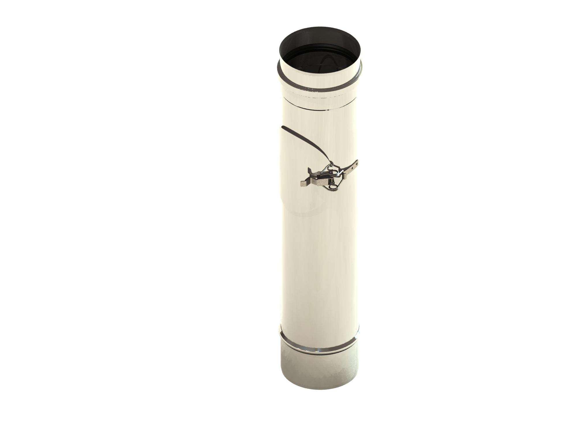 Lengte-element 500 mm met onderhoudsluik, ongelakt