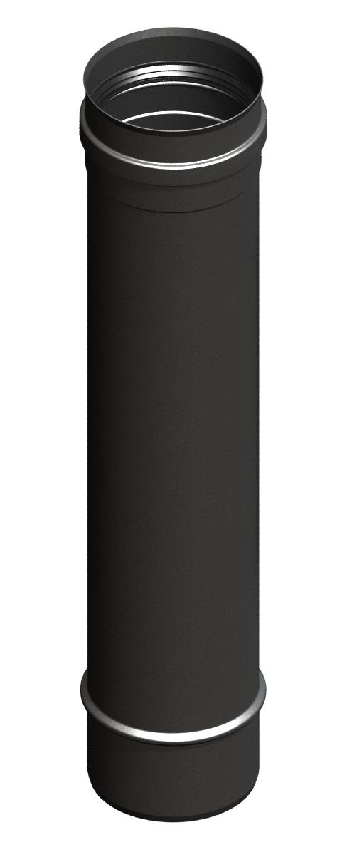 Lengte-element 500 mm, zwartgeverfd