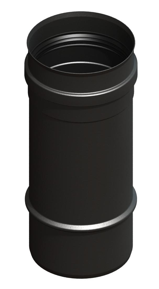 Lengte-element 250 mm, zwartgeverfd