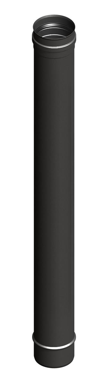Lengte-element 1000 mm, zwartgeverfd