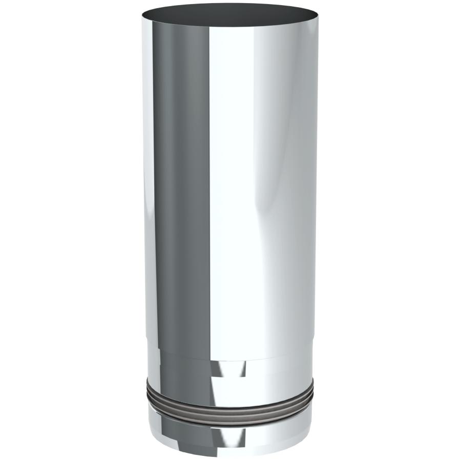 Rookkanaal Pelletkachel - Lengte-element 250 mm - ongelakt - Tecnovis TEC-Pellet