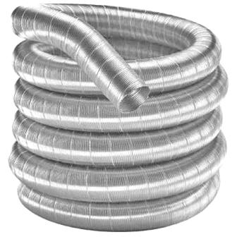 Flexibele rookkanaal enkelwandig Ø 225 mm - Roestvrijstaal