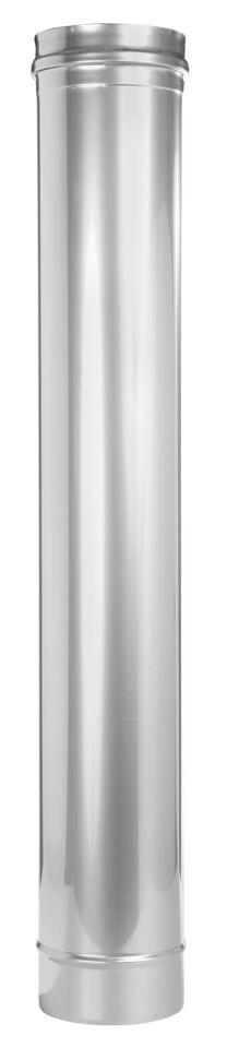 Schoorsteensectie 1000 mm - enkelwandig voor Tecnovis TEC-EW-Classic