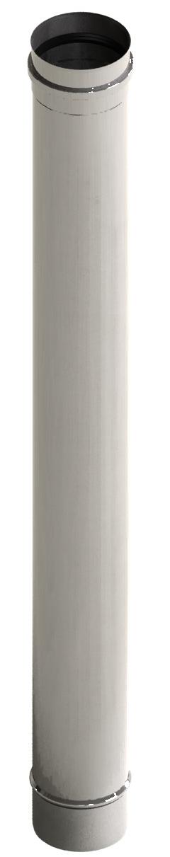 Lengte-element 1000 mm, ongelakt