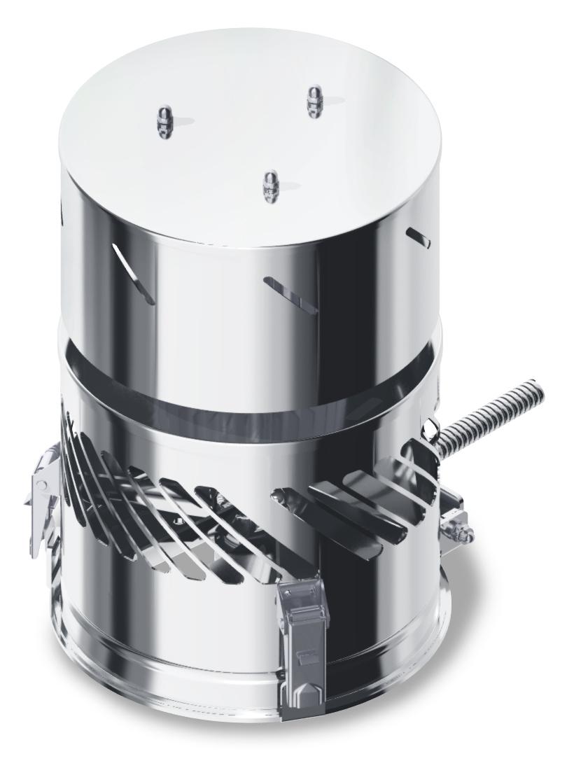 Rookgasventilator DIAJEKT S 150 / 250 Kutzner & Weber