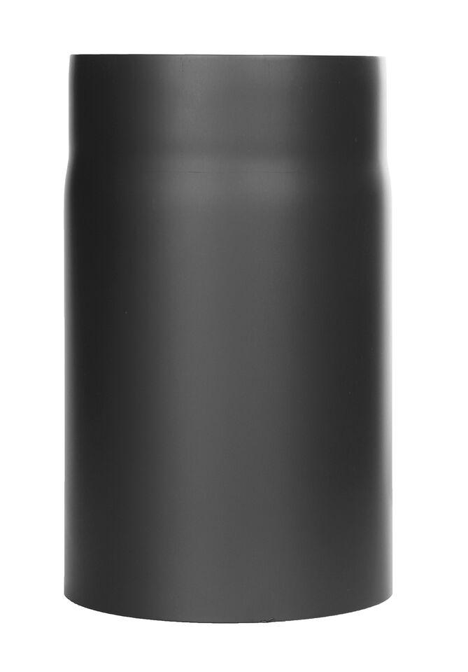 Kachelpijp -Lengte element 250 mm zwart - Tecnovis Tec-Stahl