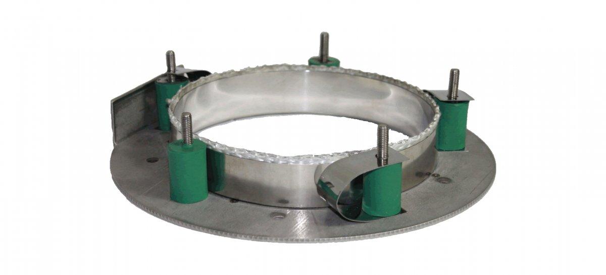Trillingsdemper voor Roogasventilator DIAJEKT (S) - Kutzner & Weber