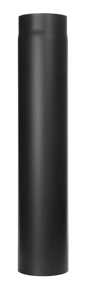 Kachelpijp -Lengte element 750 mm zwart - Tecnovis Tec-Stahl