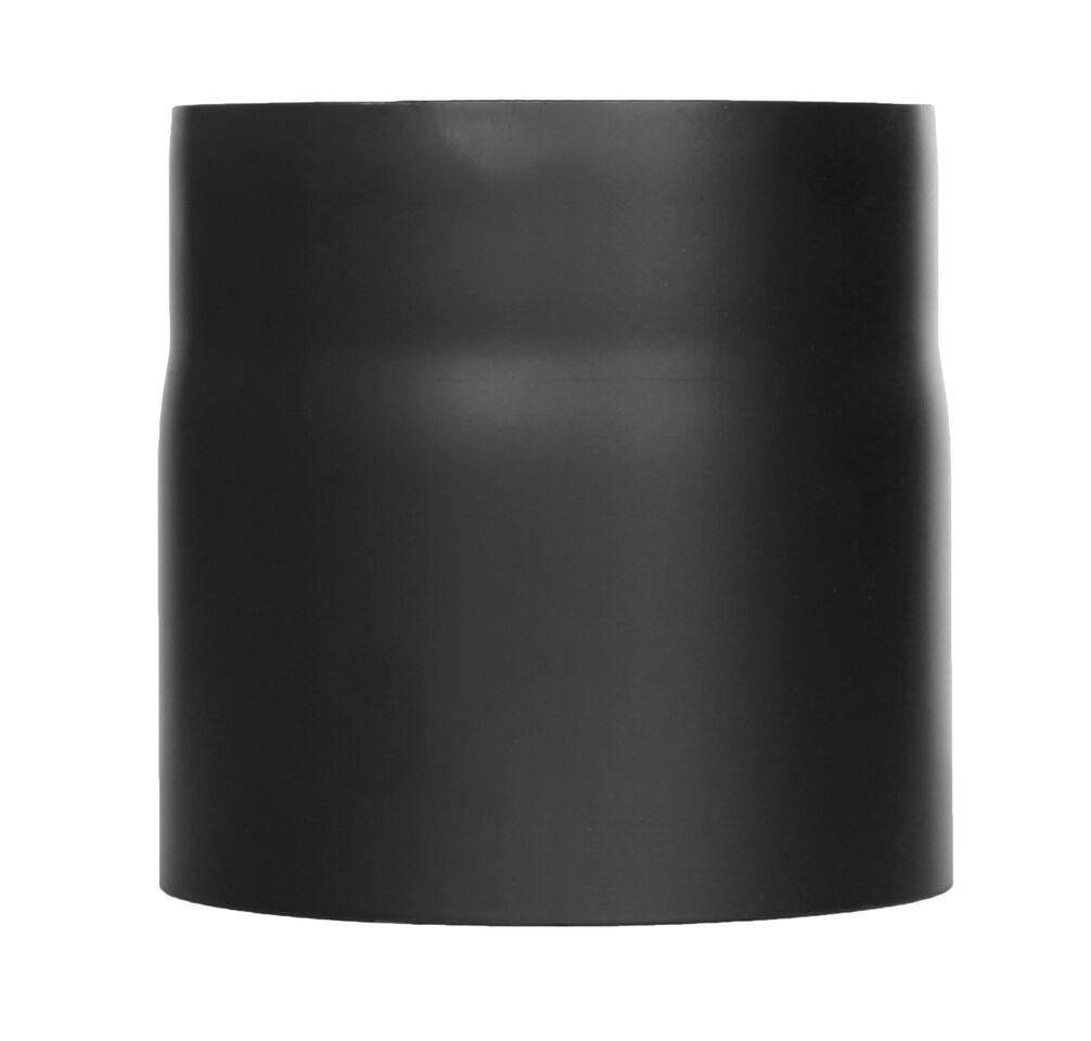 Kachelpijp -Lengte element 150 mm zwart - Jeremias Ferro-Lux