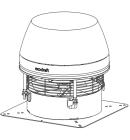 Rauchsauger - horizontal ausblasend, Hochtemperaturbeständig - exodraft