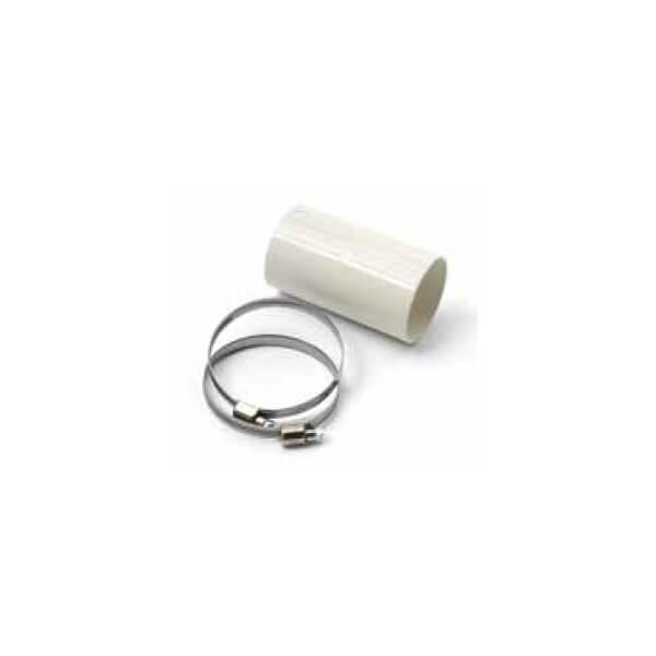 MCZ starre connector voor warmelucht rookkanalen, Ø 60 mm