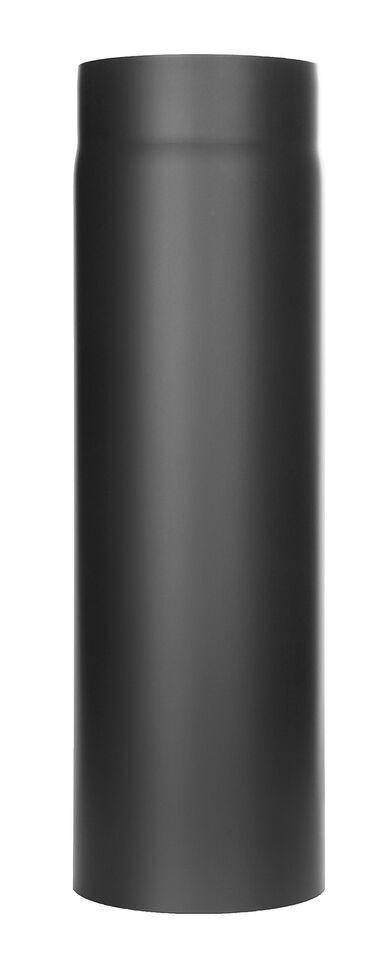Kachelpijp -Lengte element 500 mm zwart - Tecnovis Tec-Stahl