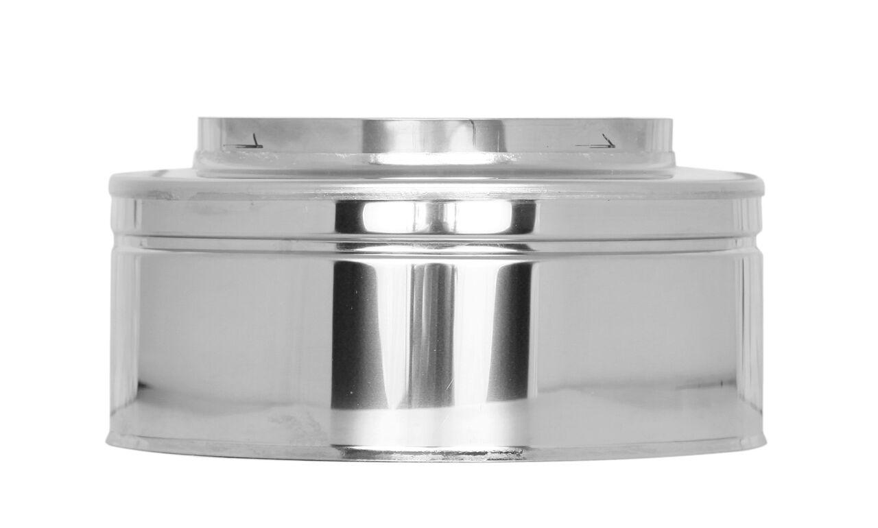 Afsluitstuk - dubbelwandig - Tecnovis TEC-DW-Standard