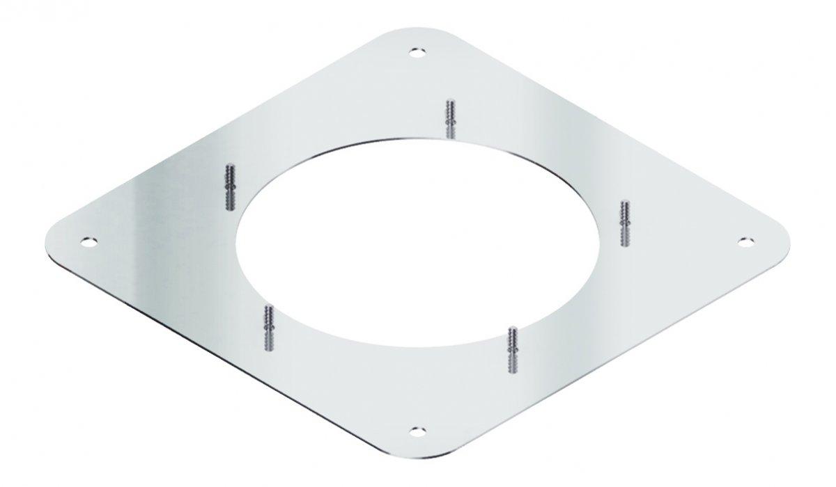 Vierkante schroefplaat voor rookgasventilator Diajekt (S) - Kutzner & Weber